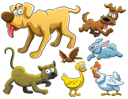 Animals Collection Stock Vector - 12848241