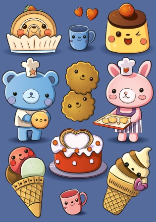 Cute Cakes and Ice Cream