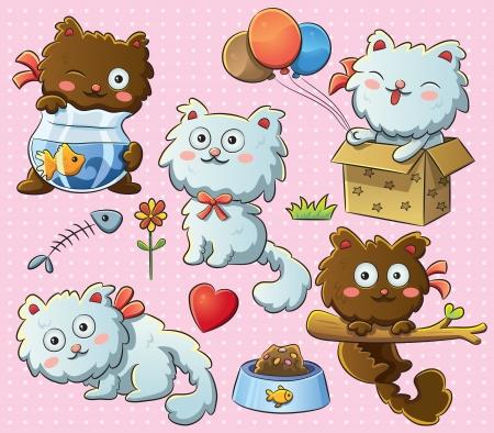 Cute Kitty Ilustrace
