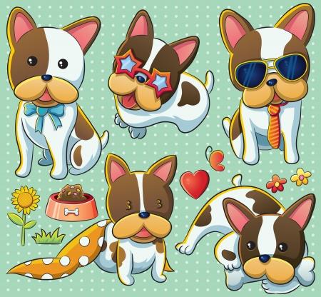 Cute Puppy Stock Vector - 13610752