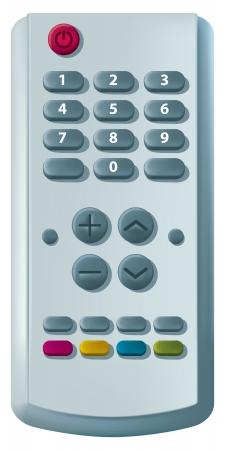 Television Remote Illustration