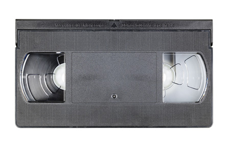 videocassette: Video cassette isolated on white background with clipping path