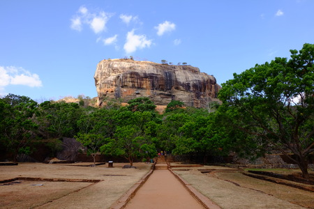 sigiriya: Sigiriya Lion Rock