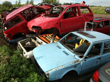 junked: Car cementary
