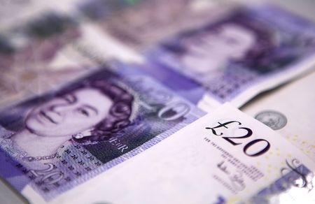 Zwanzig (20) Pfund Banknoten