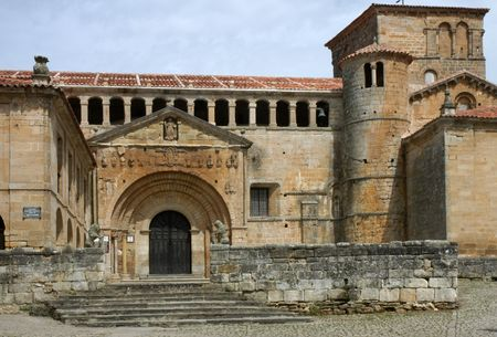 Santillana - historic church