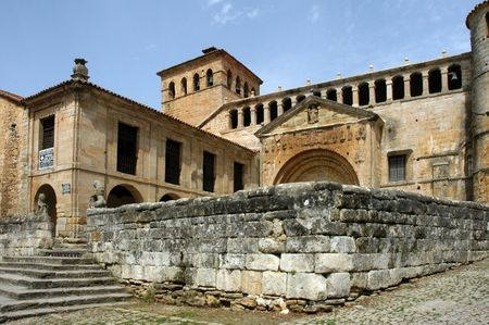 Santillana - historic church
