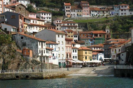 Ansicht von Cudillero (Asturien-Spanien)
