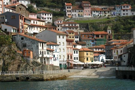 View of Cudillero (Asturias -Spain)