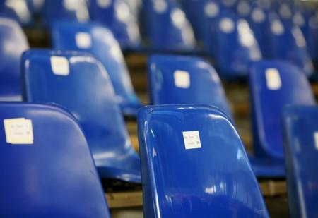 Blau Sitze