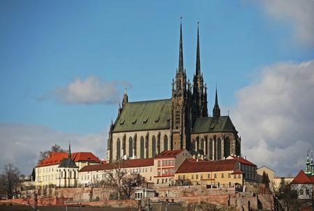 Die Kathedrale St. Peter und Paul Lizenzfreie Bilder
