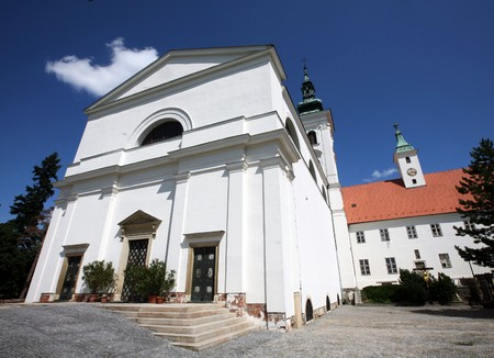 jezus: Church of Virgin Mary birth in Vranov near Brno