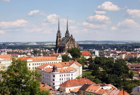 Brno Kathedrale St. Peter und Paul in Brno, Tschechische Republik