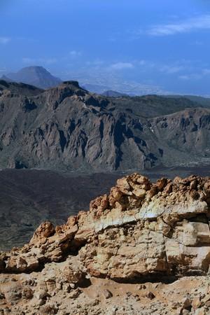 La plus haute montagne en Espagne El Teide  Banque d'images - 8152136