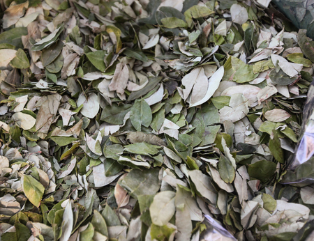 the residue: The sale of coca leaves in streets of Tingo Maria