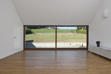 large doors: large glass sliding doors in the house