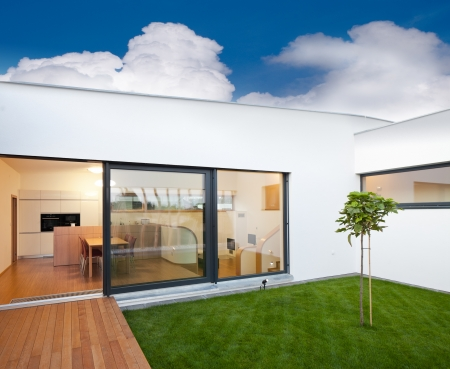 Beautiful new peaceful, modern home photo