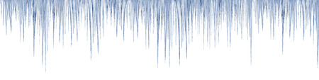 icicles on white background