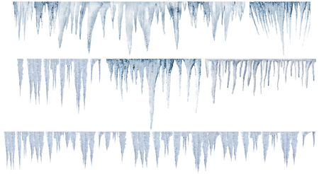 glacial: icicles catalog of diferent and real type