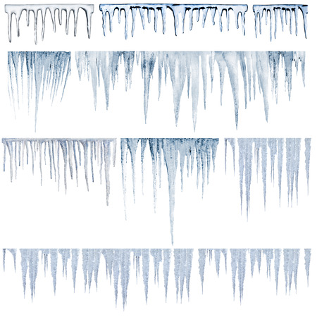 frigid: icicles catalog of diferent and real type
