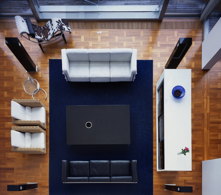 very rare view on verz nice and light livingroom interior