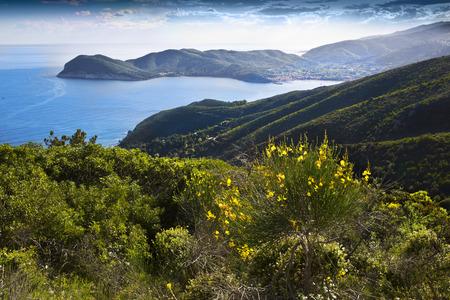 Elba island in Tuscany, Italy