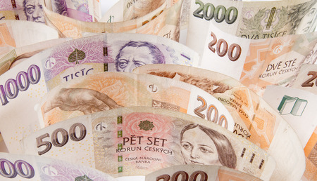 koruna: czech money, czech krown, ceska koruna