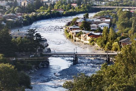 kutaisi: view to Kutaisi Town at Georgia