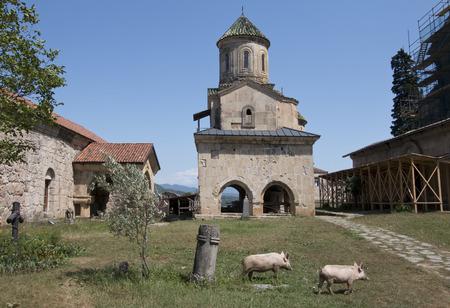 kutaisi: Gelati monastery at Georgia near Kutaisi city