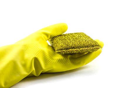 Sponge and glove photo