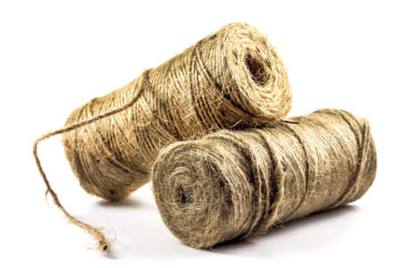 hasp: Two rolls of twine
