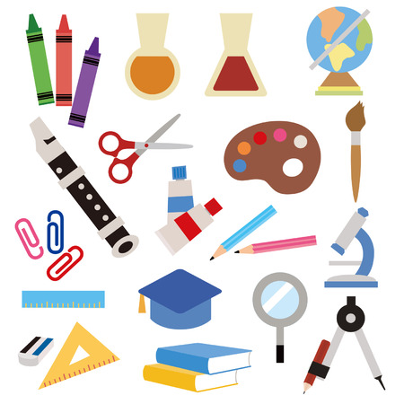 Stationery icoon Stock Illustratie