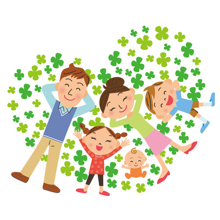 good friend: A clover and family