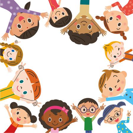 supplementary: Child meeting Illustration