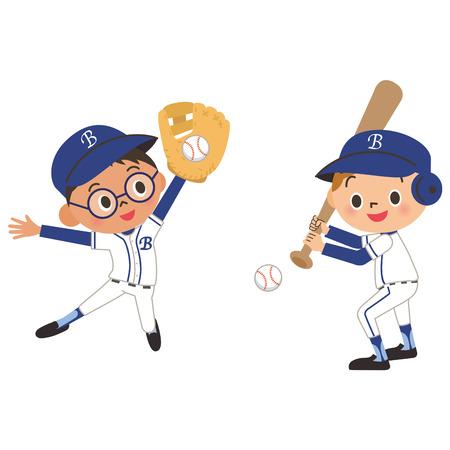hits: A child and baseball