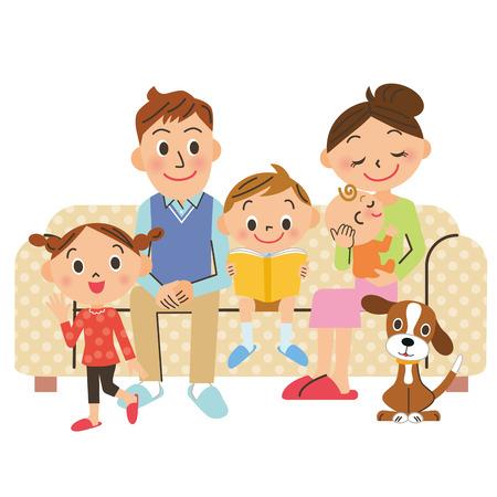 family living Vector