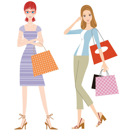 good friend: I enjoy shopping in the girlfriends who are a good friend