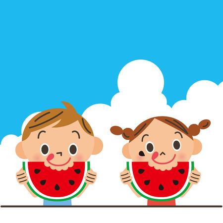 thunderhead: The child who eats a watermelon