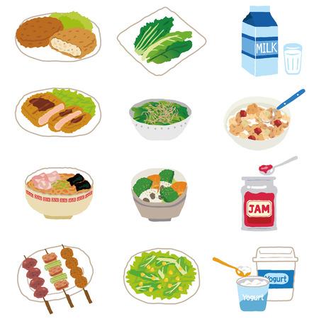 Casalinga ingredienti alimentari