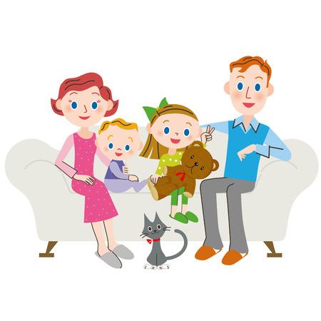 foreigner: Family living foreigner