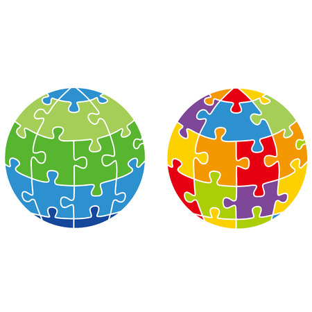merger: earth, puzzle, peace