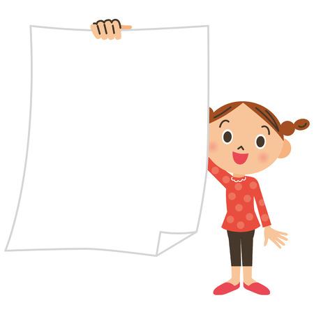 schoolchild: Primary schoolchild, girl, paper