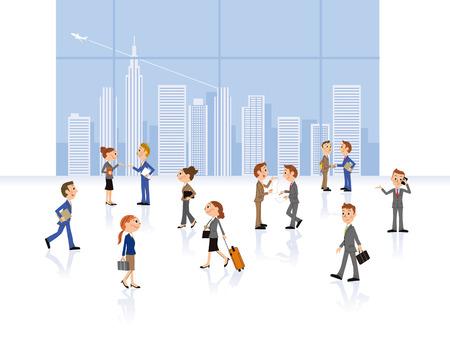 going: Business scene