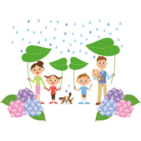 rainy season: rainy season and family