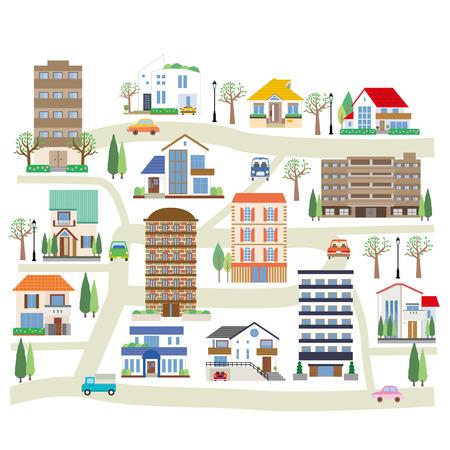 cityscape: Cityscape Illustration