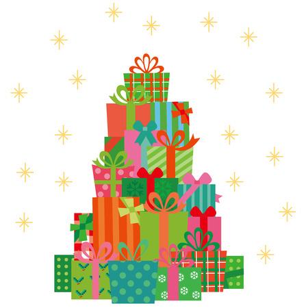 RBol de navidad y el presente Foto de archivo - 47423153