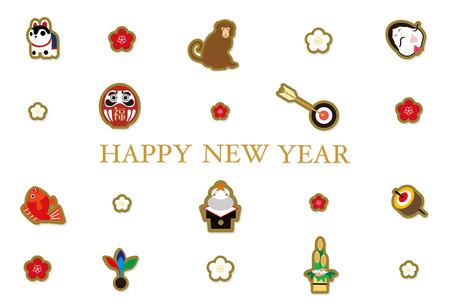 bream: 2016 New Years cards, mascot