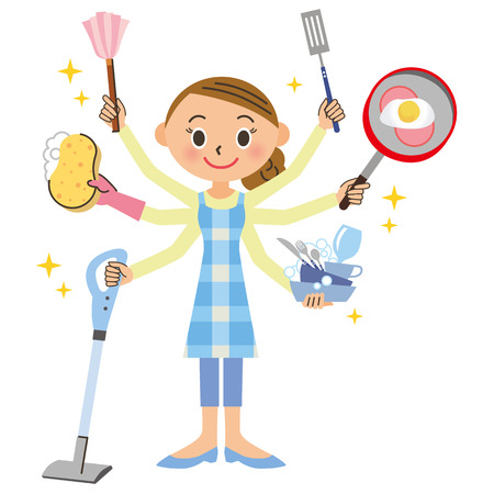 casalinga: Lavori domestici e casalinga