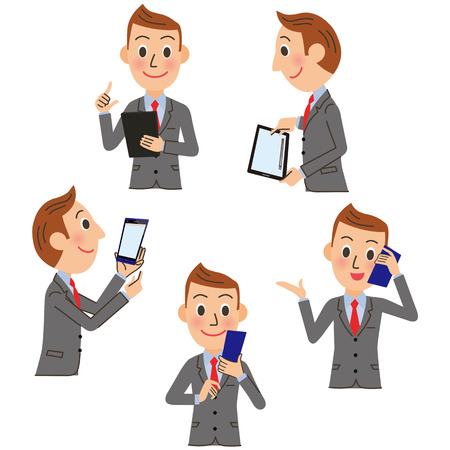 Businessman Stock Illustratie