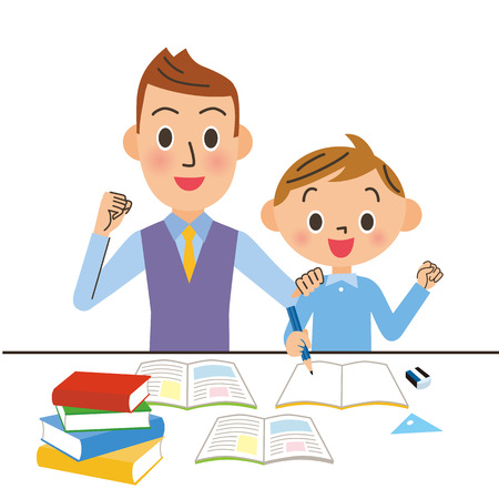 tutor: tutor and child